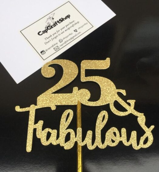 'Number' & Fabulous Topper