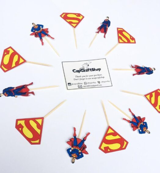 Character Cupcake Toppers