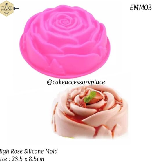 High Rose Silicone Mold