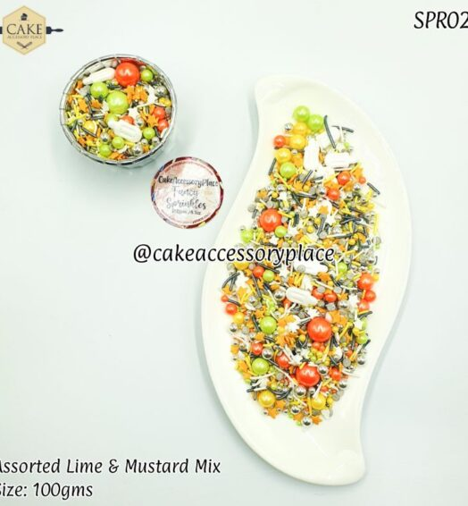 Lime & Mustard Mix – 100gms